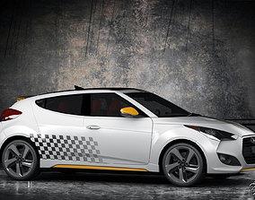 3D Hyundai Veloster Turbo