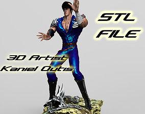 3D print model Fist of the north star Hokuto no Ken 4