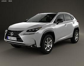 3D model Lexus NX Hybrid 2014