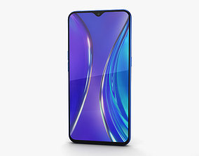 3D model Realme XT Pearl Blue