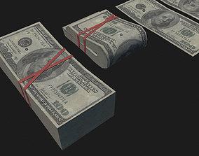 3D model Money USD Pack