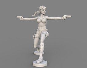tomb raider sculpt 3D model