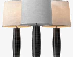 BDDW Leather Lamp 3D