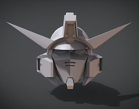 Gundam AGE Head 3D print model
