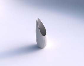 Vase Tsunami with twisted bands 2 3D printable model