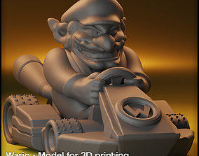 3D printable model Wario Mario Kart - Wario for Monopoly