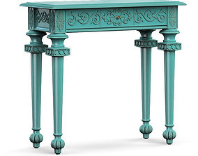 3D Hooker Furniture Melange Tyfani Accent Console Table