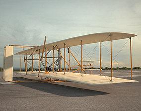 3D model Wright Flyer