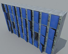 3D model Metal storage