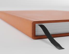 Diary 3D asset