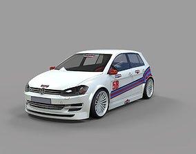 GOLF 7 RACING 3D model