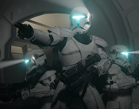 Republic Commando Remake 3D