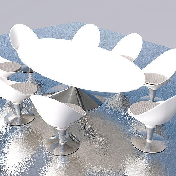 Modern Dining Table Set