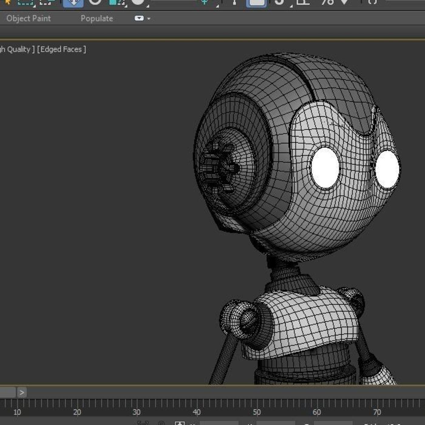 3D Robot Model | CGTrader