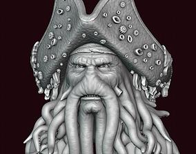 Davy Jones Head 3D print model