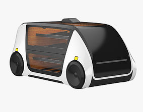 Robomart 3D model