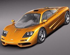 3D McLaren F1 1994-1998