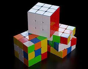 3D model Rubiks cube sports