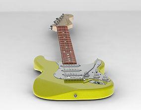 Fender Stratocaster models 3D
