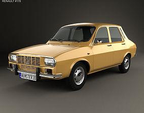 Renault 12 1969 3D litre