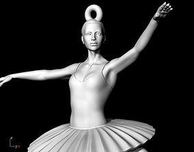 3D print model balet ballet pendant Dancer