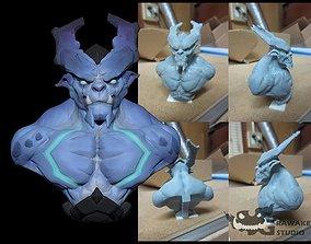 3D print model lucifer Dark Blue