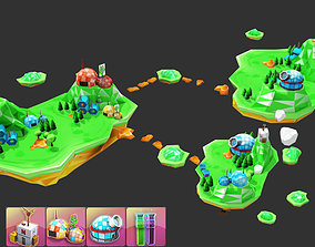 Island Discovery Natural 3D model