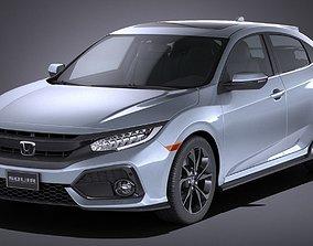 Honda Civic Hatchback 2017 3D model 2020