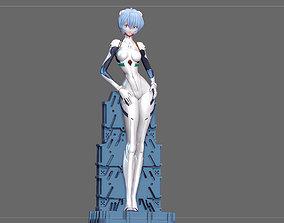 3D print model REI AYANAMI PLUG SUIT EVANGELION ANIME 2