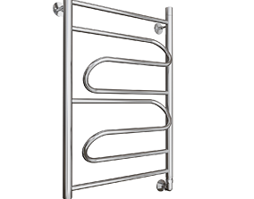 warm towel rail 3D model