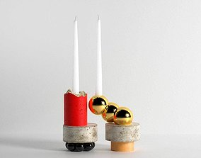 3D model Candlesticks by David Taylor