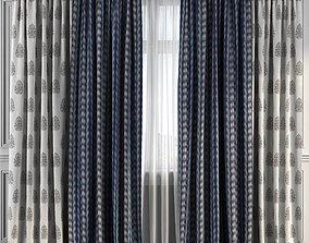 3D Curtain Set 223