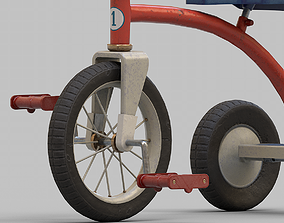 3D asset Ussr Tricycle