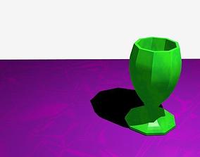 3D print model Ceramics porcelain goblet