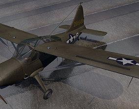 3D model Stinson L-5 Sentinel