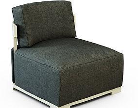 3D model Armchair - Bea