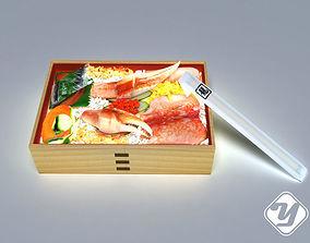 Crab meat Convenient 3D model