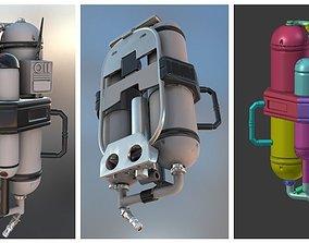 FlameTrooper TankPack 3D printable model
