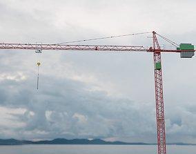 Hammerhead Tower Crane 2 - Construction Crane 3D