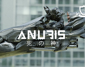3D model SPACE NINJA - ANUBIS - COMPLETE EDITION