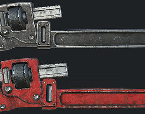 3D model Old Wrench PBR