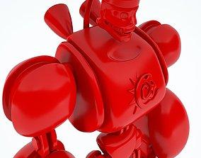 Robot 3D asset game-ready