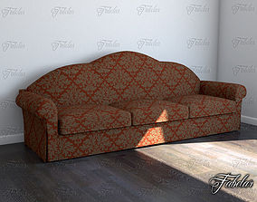 modern contemporary Sofa 3D