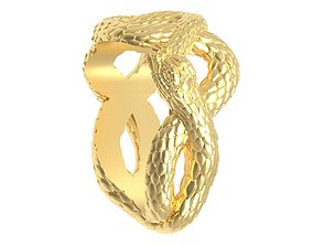 Eyelet snake for pendant 3d print ready