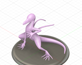 pokemon Salazzle 3D printable model