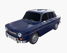 3D model Dacia 1100 Dark Blue