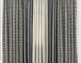 3D model Curtain Set 29C