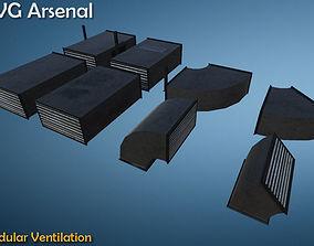 Modular Ventilation - HQ 3D model