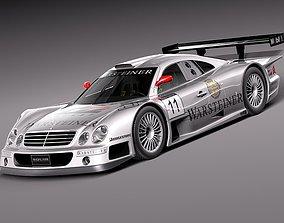 Mercedes-Benz CLK GTR 3D model
