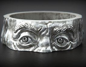 Franklin head Ring original 3D print model
